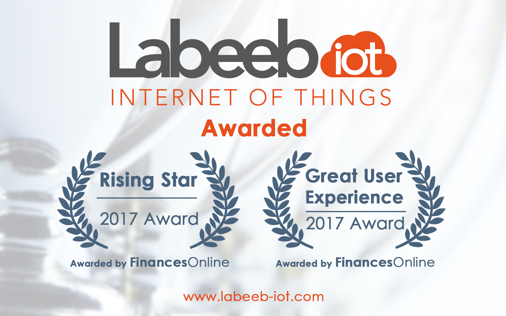 Labeeb IoT receives FinancesOnline Awards
